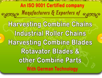 Combine Blades Industrial Roller Chains